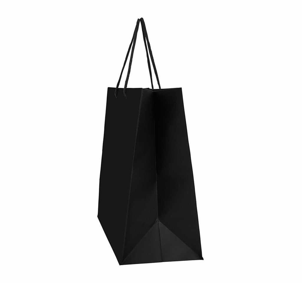 Wide side gusset paper bag at wholesale rate for box packaging