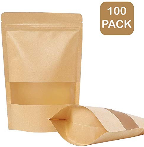 Get brown paper pouch bag for your business at packaging depot.